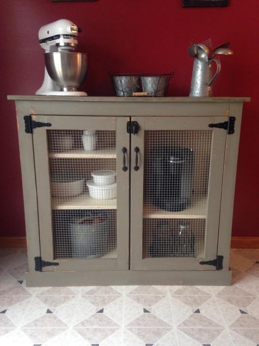 Farmhouse Coffee Cabinet
