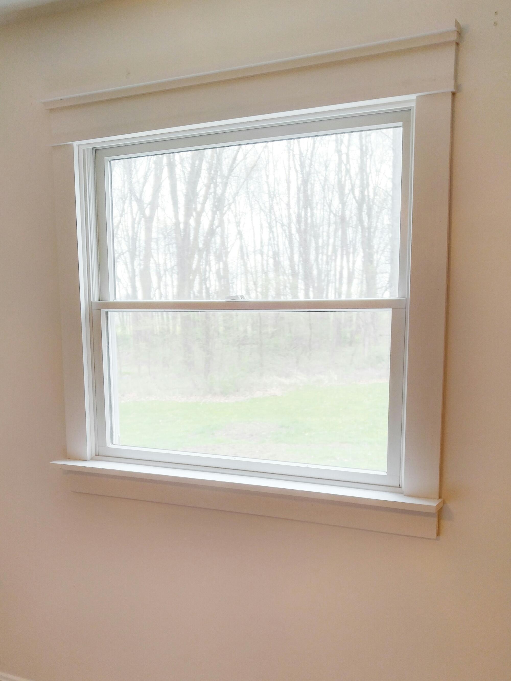 Diy interior window trim - Image Diy Farmhouse Window Trim